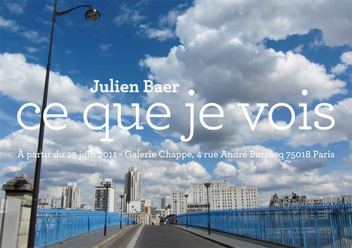 julien baer ce que je vois JULIEN BAER « DROLE DE SITUATION » (1)