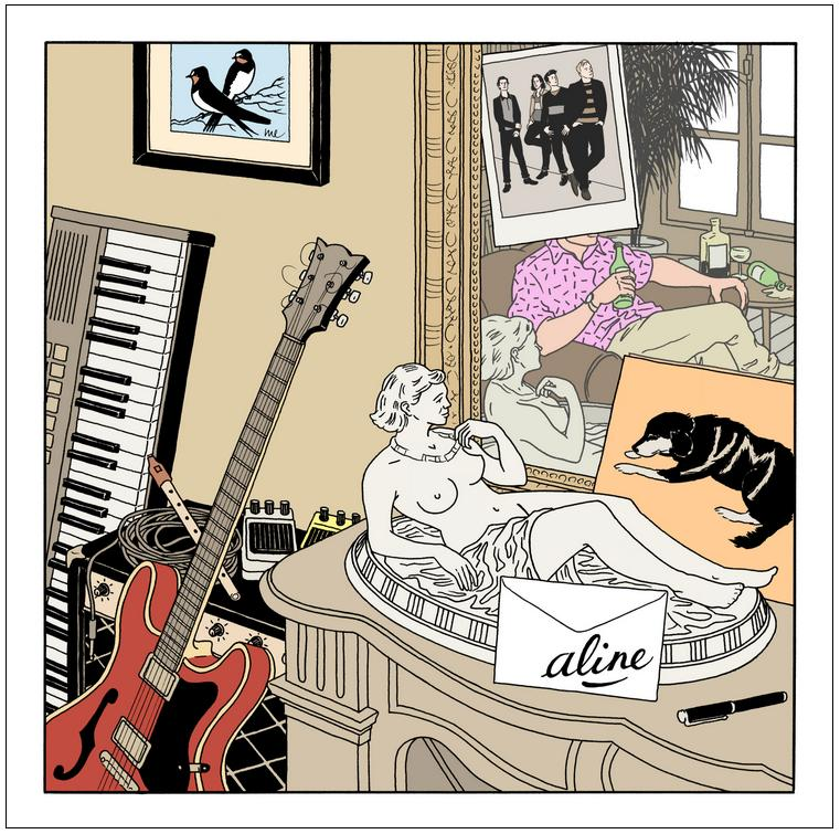 Aline cover Ep ALINE (EX YOUNG MICHELIN) : ALINE EP