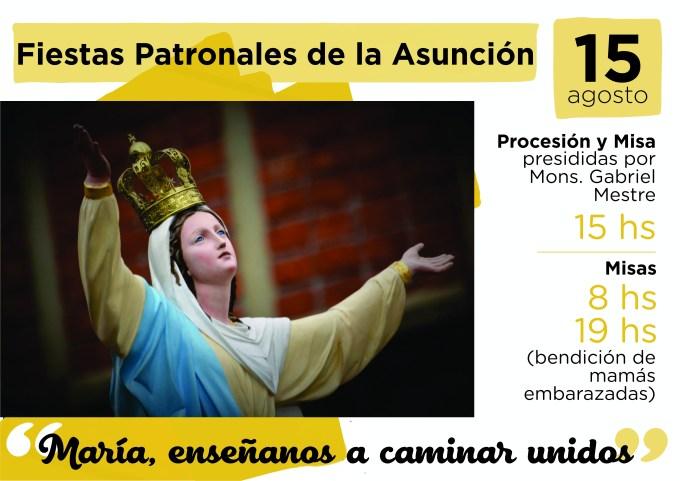 PATRONALES ASUNCIÓN 2018 bajo
