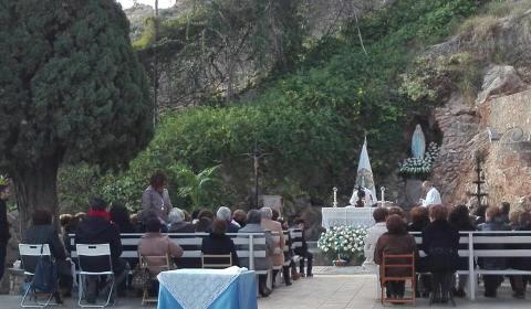 Santa Missa en honor de la Mare de Déu de Lourdes