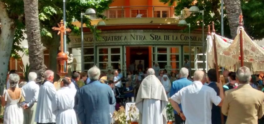 Celebración del Corpus Christi en nuestra parroquia
