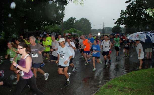 10th Annual Lawyers for Kids 5K run continued despite rain