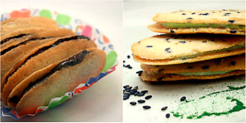 Homemade Milano Cookies - Plain and Black Sesame Matcha (Green Tea)