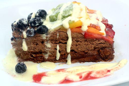 TWO AMAZING PAVLOVA RECIPES! Tropical Passion Fruit White Chocolate Pavlova and Chocolate Pavlova Tart with Chocolate Mascarpone Mousse and Fresh Fruit
