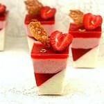 Let's Gel, Panna Cotta and Strawberries Three Ways