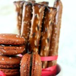 Salted Pretzel Macarons, 3 Years Blogging, <del>and 3 GIVEAWAYS!<del/>