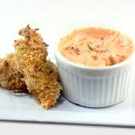 Crunchy Coconut Lime Chicken Strips (or nuggets) for SRC