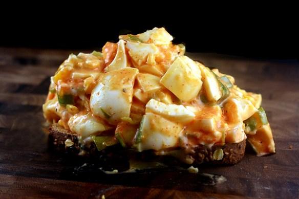 The BEST Sriracha Egg Salad!