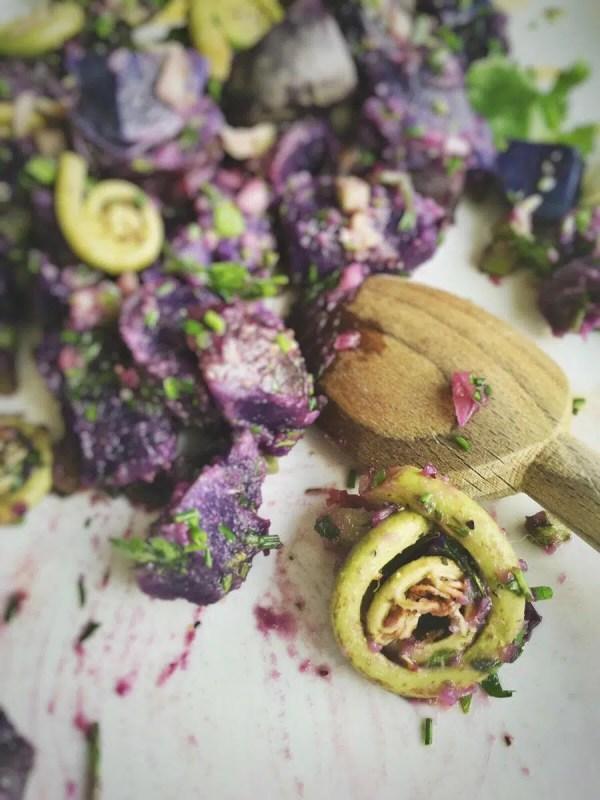 how to cook purple potatoes