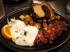 Hot Suppa's Corned Beef Hash & Eggs