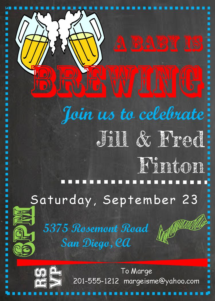 Large Of Coed Baby Shower Invitations