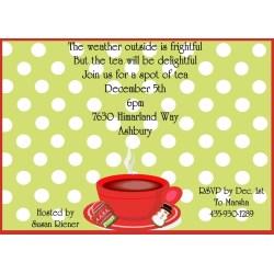 Splendid Holiday Tea Party Invitations Tea Party Invitations 2018 Tea Party Invitations Diy Tea Party Invitations Pinterest