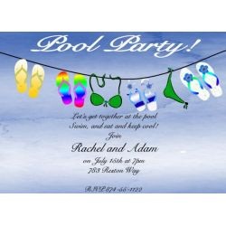 Splendent Stuff On A Line Party Invitations Party Invitations New Selections Summer 2018 Party Invitations Party Invitations Teen