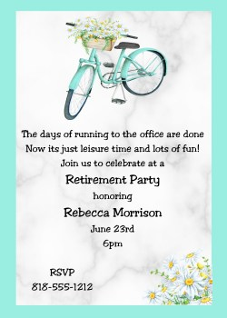 Small Of Retirement Party Invitations