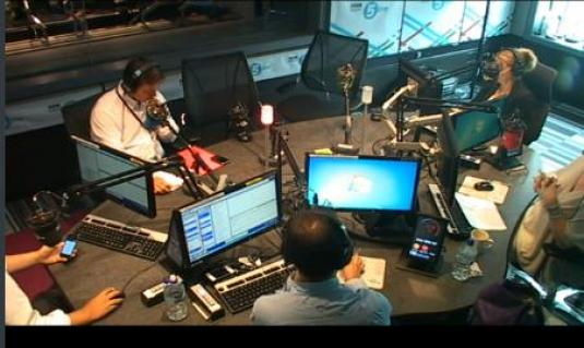Live Streaming BBC Radio 5 Live Studio Webcam BBC Radio 5 Live Streaming Studio Cam
