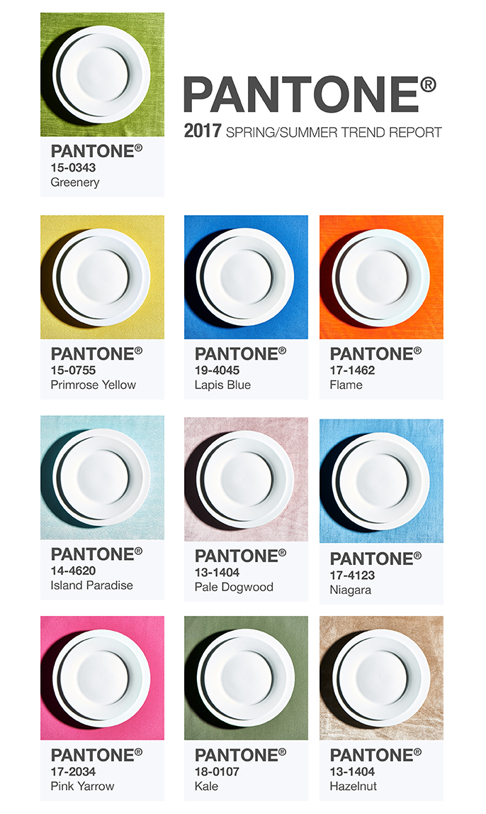 Party Rental Ltd. - How to Incorporate Pantone Color of the Year 2017 Greenery and the Spring Fashion Color Report into Your Event Design
