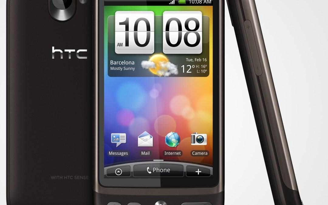 Wie mache ich Screenshots mit dem HTC Desire