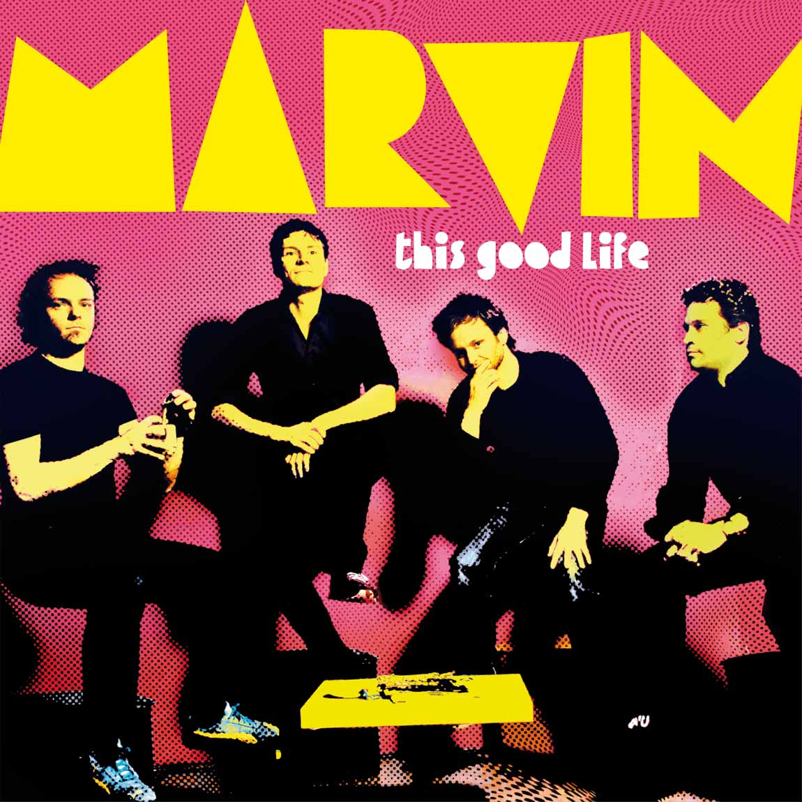 Marvin This Good Life LP Cover Variante
