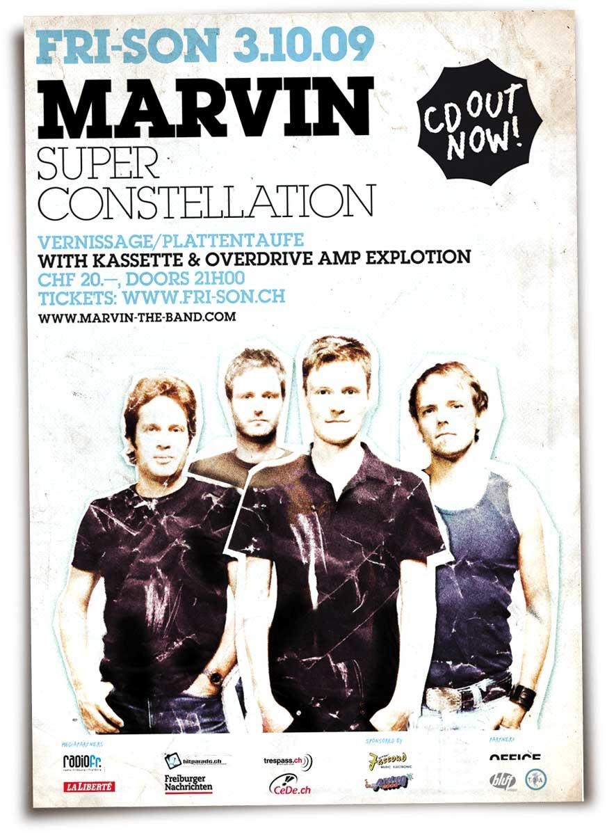 Marvin This Super Constellation Plakat