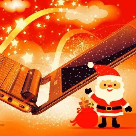 Toshiba Weihnachten