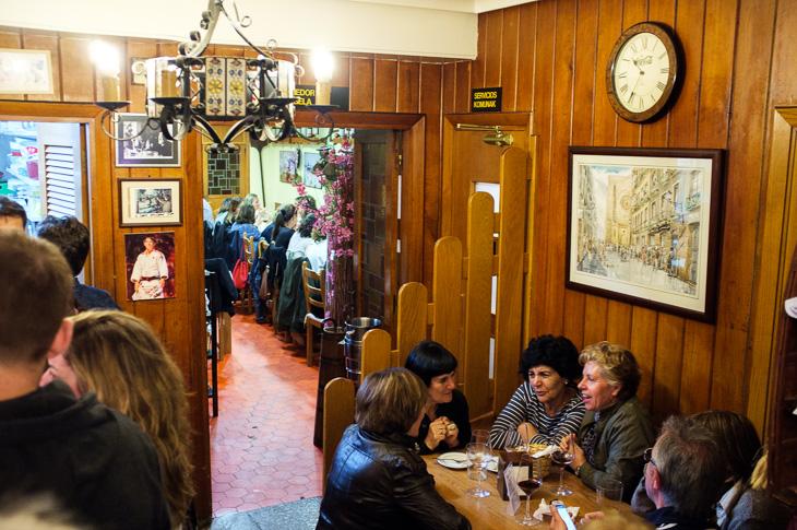 Passagem Gastronômica - La Vina - Pintxos Bar em San Sebastian