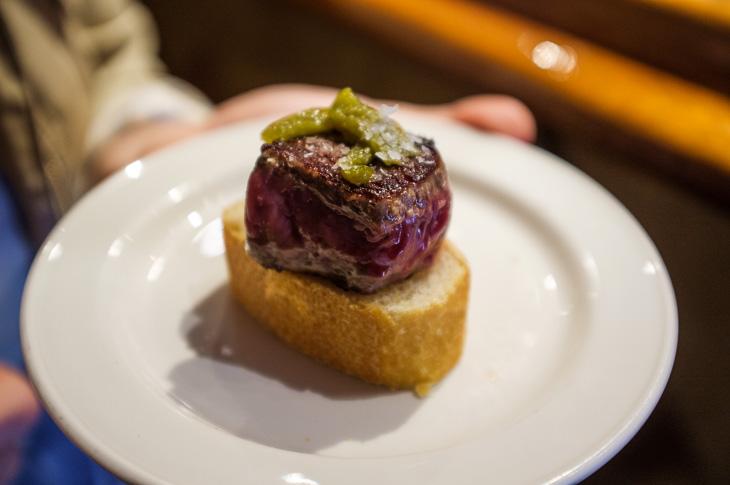 Passagem Gastronômica - Casa Gandarias - Solomio - Pintxos Bar em San Sebastian