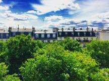 Views of Le Marais.