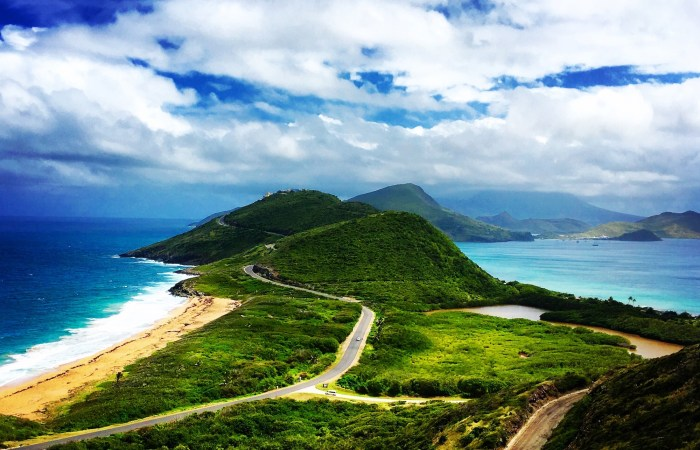 The view from Timothy Hill, St. Kitts
