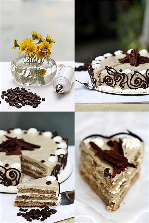 Espresso Coffee Cream Cake