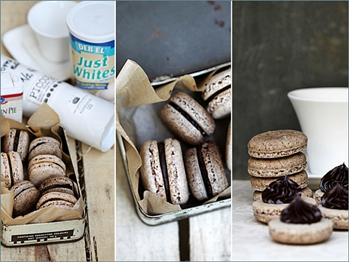 Fall Macarons - Coffee & Pumpkin Pie Spice