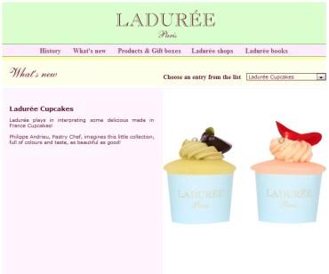 Laduree Cupcakes