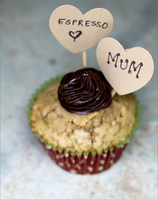 Espresso Chocolate-chip Cupcakes