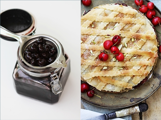 Cherry Phyllo Pie