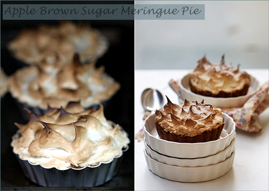 Apple Brown Sugar Meringue Pie