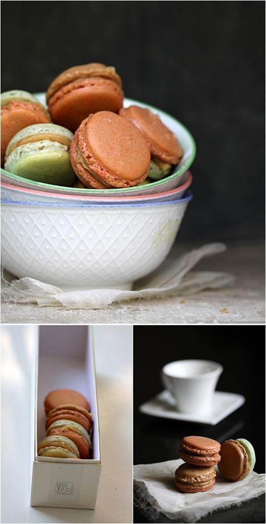 Lebkuchen and Garam Masala Macarons