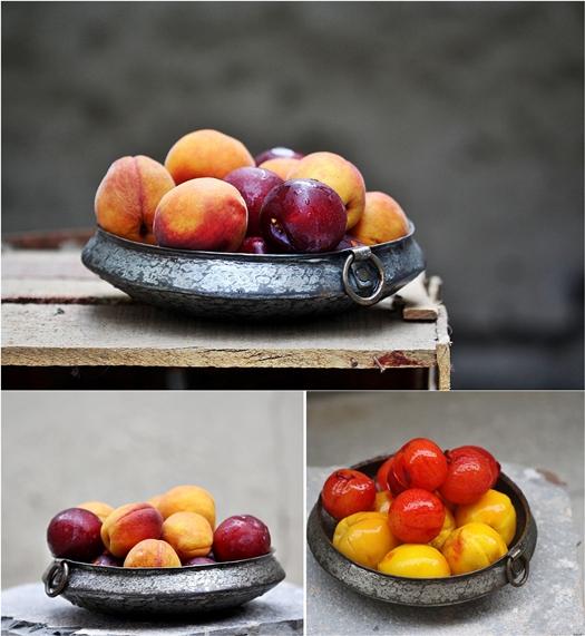 Rustic Peach 'n Plum Summer Galette