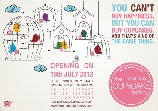 The Cupcake Factory, Gurgaon