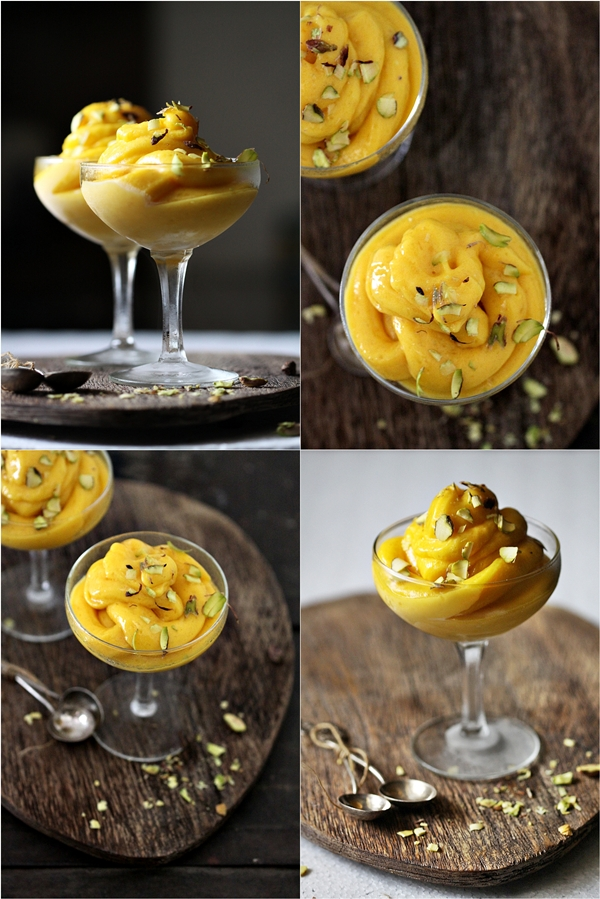 Frozen Dessert | Mango Sorbet … Taste of Yellow for Barbara!