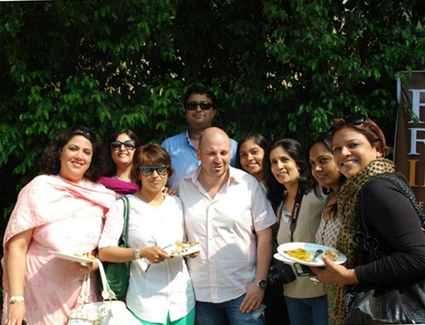 Delhi Bloggers Table with George Colambaris, Aussie Masterchef