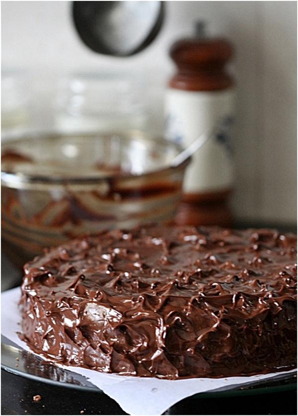 Deep Chocolate Raspberry Cake Recipes — Dishmaps