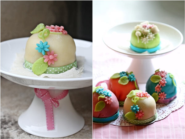 Swedish Prinsesstårta, princess cupcakes