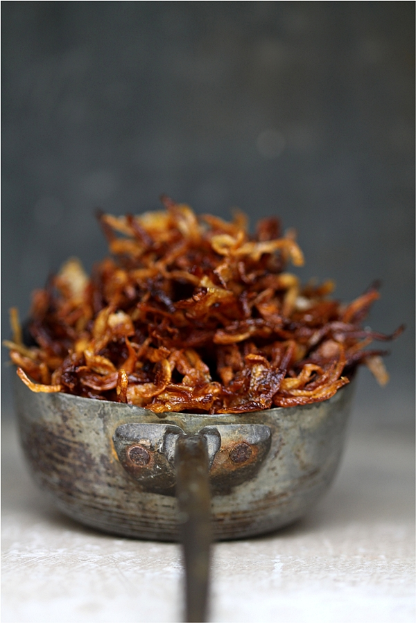 Fried Onions for Korma