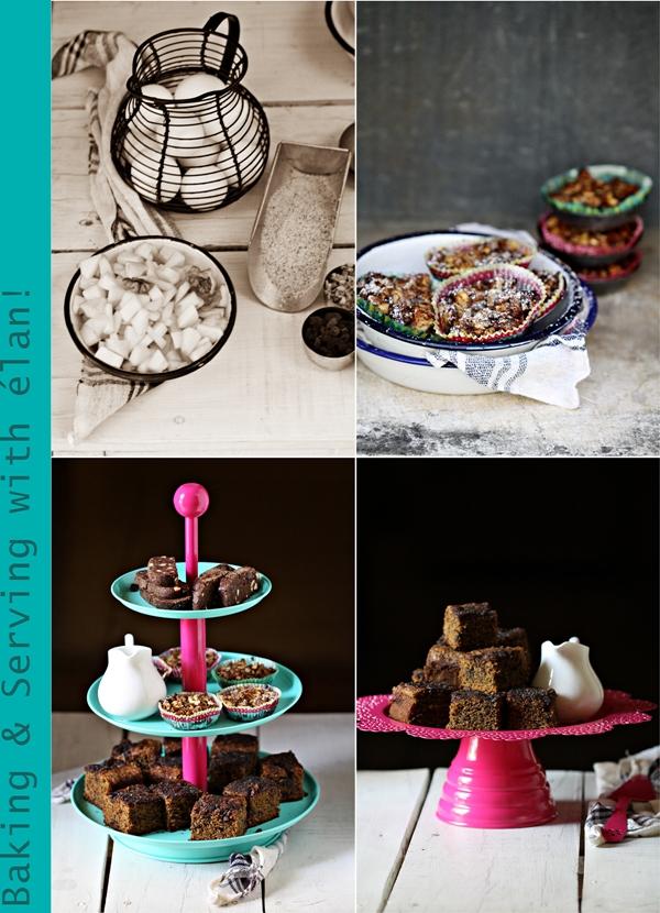 Baking & Serving with élan