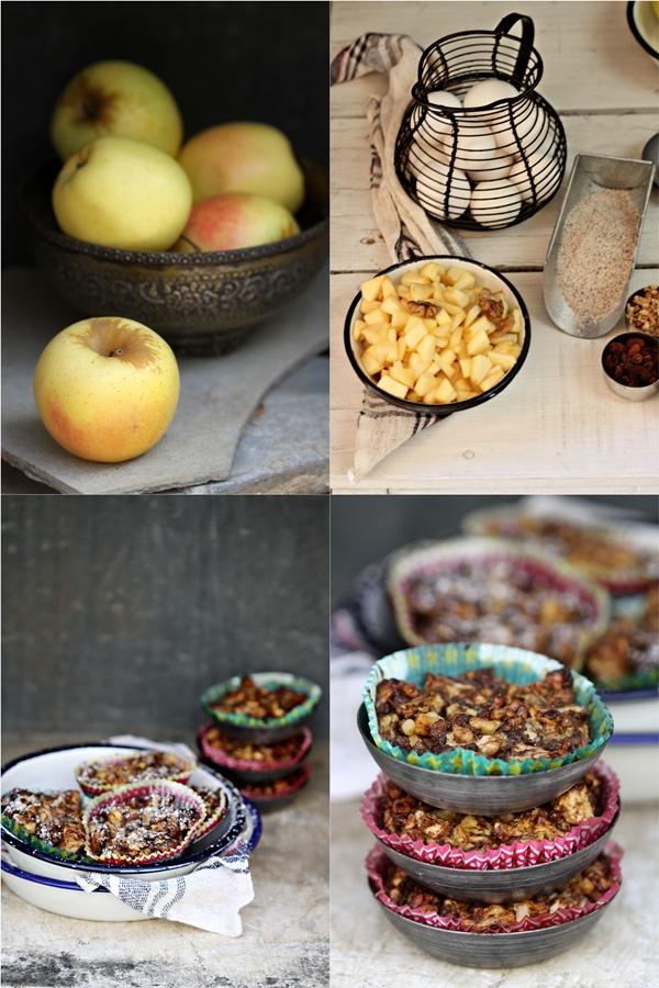 GF apple walnut buckwheat pies