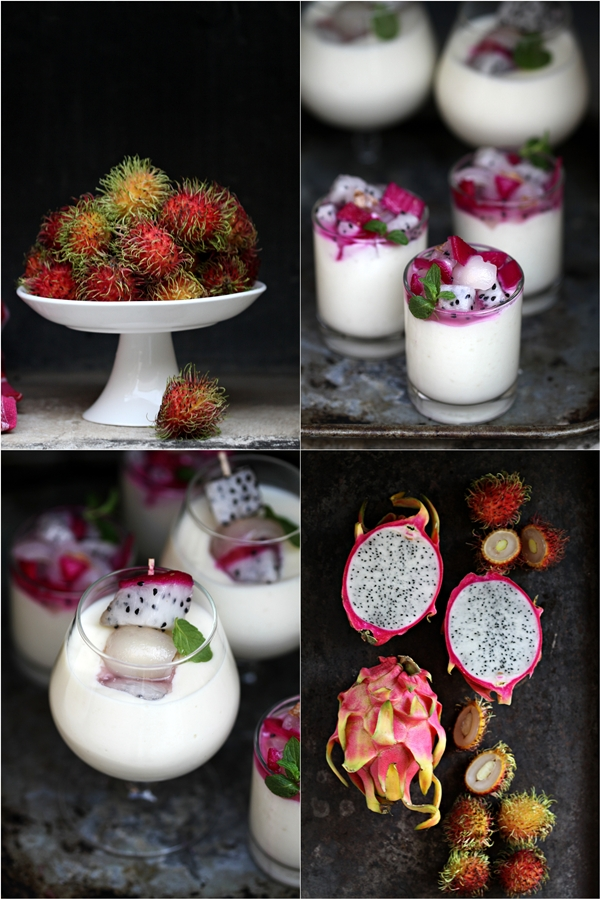 Tropical Coconut Milk Rice Pudding