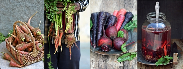 Carrots,beets, home grown 2