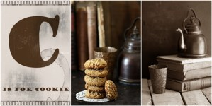 Amaranth Oat Walnut Ginger Cookies