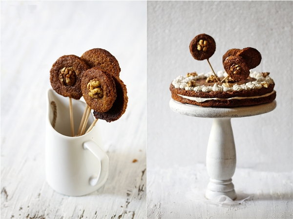 No Quite Anzac Cookie Cake and Pops