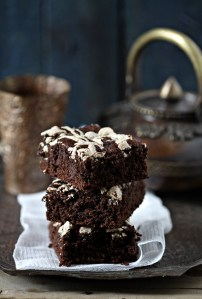 Dark Chocolate Wholegrain Brown Sugar Cake