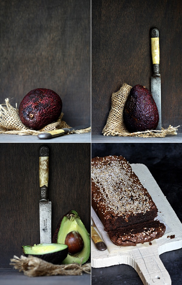 Avocado Dark Chocolate Buckwheat Cake {gluten free}